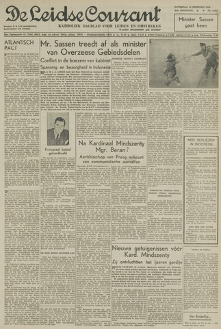 Leidse Courant 1949-02-12
