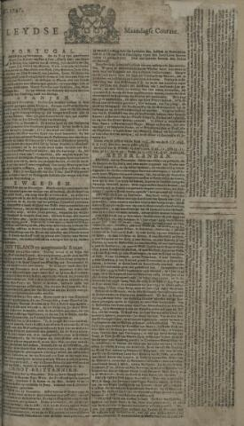 Leydse Courant 1747