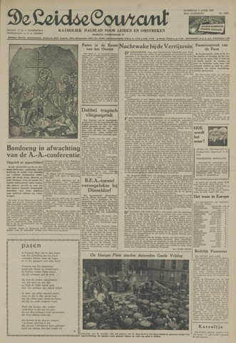 Leidse Courant 1955-04-09