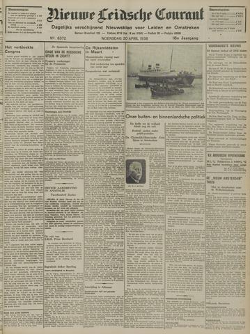 Nieuwe Leidsche Courant 1938-04-20