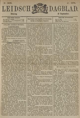 Leidsch Dagblad 1878-09-10