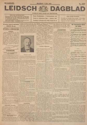 Leidsch Dagblad 1928-07-02