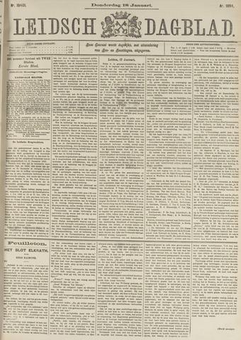 Leidsch Dagblad 1894-01-18