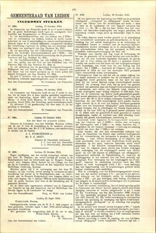 Handelingen van de Raad 1913-10-15
