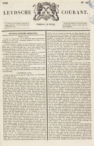 Leydse Courant 1846-07-10