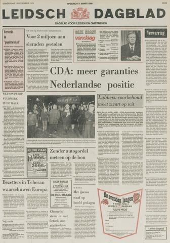 Leidsch Dagblad 1979-12-13