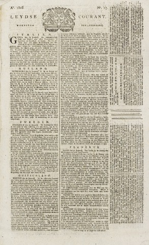 Leydse Courant 1818-02-04