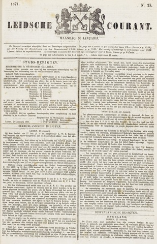 Leydse Courant 1871-01-30