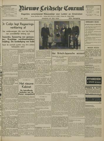 Nieuwe Leidsche Courant 1939-07-25