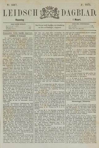 Leidsch Dagblad 1875-03-01