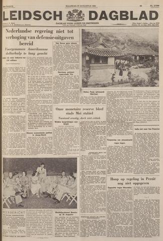 Leidsch Dagblad 1951-08-27
