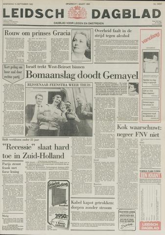 Leidsch Dagblad 1982-09-15