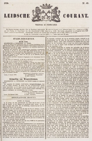 Leydse Courant 1876-02-25