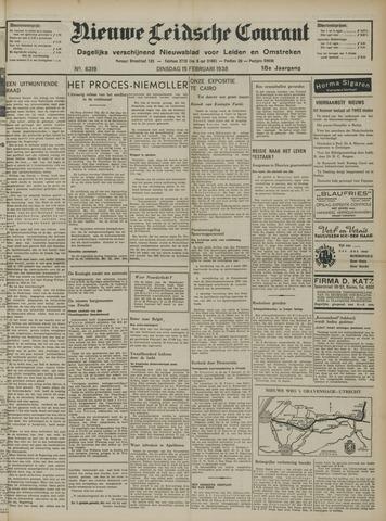 Nieuwe Leidsche Courant 1938-02-15