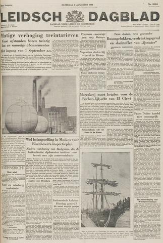 Leidsch Dagblad 1955-08-06