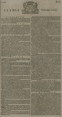 Leydse Courant 1726-11-27