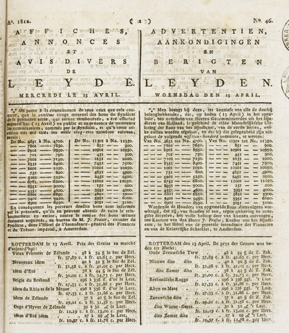 Leydse Courant 1812-04-15