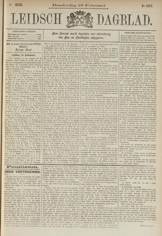 Leidsch Dagblad 1893-02-16