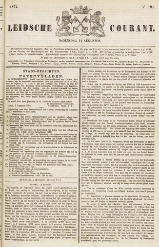 Leydse Courant 1872-08-14