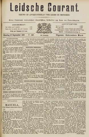 Leydse Courant 1887-09-27