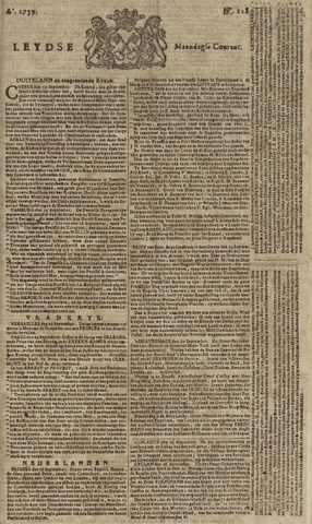 Leydse Courant 1759-10-01