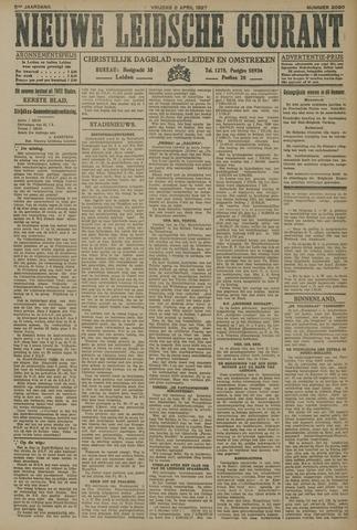 Nieuwe Leidsche Courant 1927-04-08