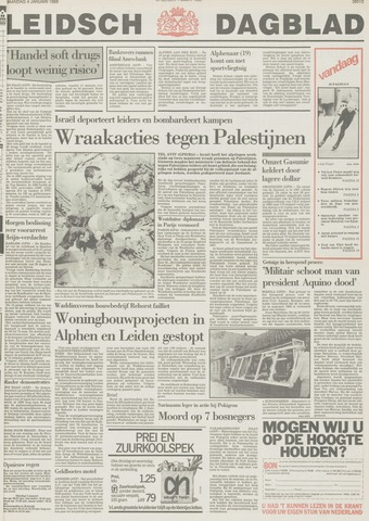 Leidsch Dagblad 1988-01-04