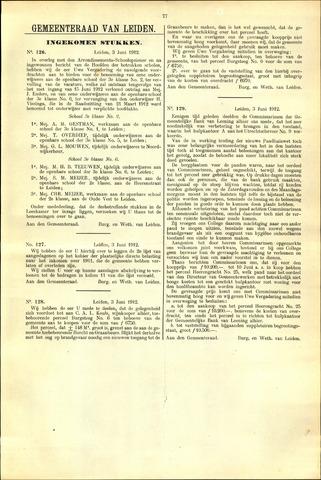Handelingen van de Raad 1912-06-03
