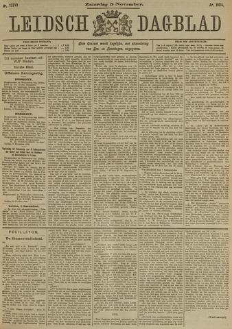 Leidsch Dagblad 1904-11-05