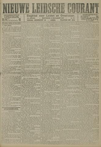 Nieuwe Leidsche Courant 1921-11-09