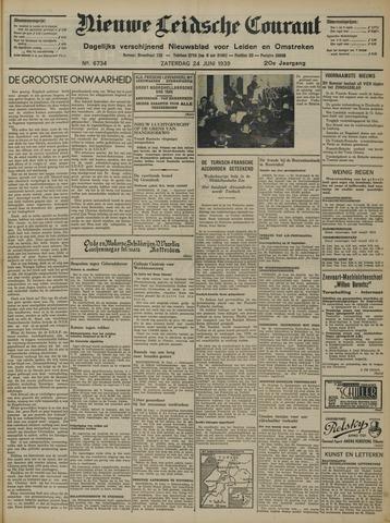 Nieuwe Leidsche Courant 1939-06-24