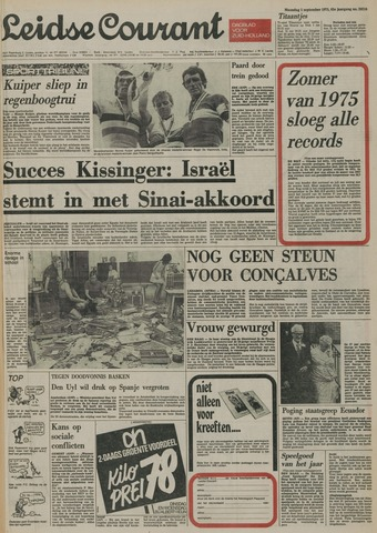 Leidse Courant 1975-09-01