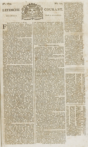 Leydse Courant 1825-08-22