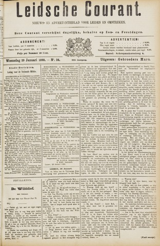 Leydse Courant 1890-01-29