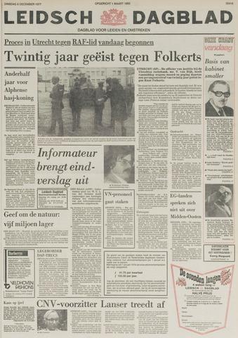Leidsch Dagblad 1977-12-06