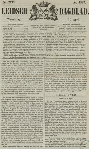 Leidsch Dagblad 1867-04-10
