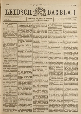 Leidsch Dagblad 1899-12-22