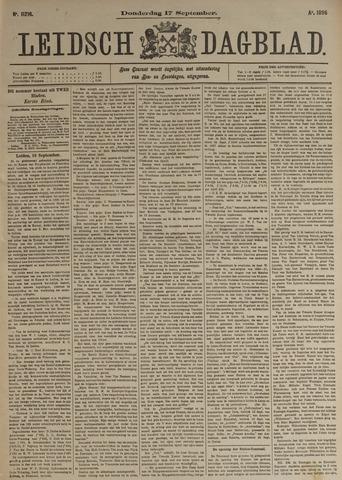 Leidsch Dagblad 1896-09-17