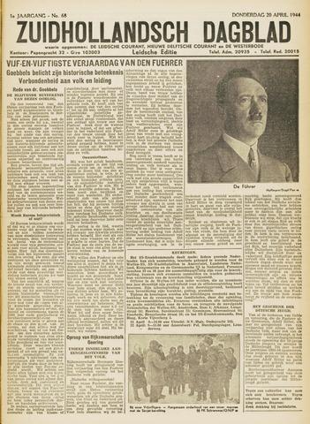 Zuidhollandsch Dagblad 1944-04-20