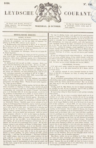 Leydse Courant 1850-10-16