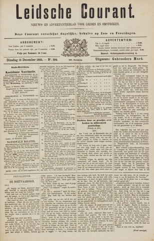Leydse Courant 1885-12-15