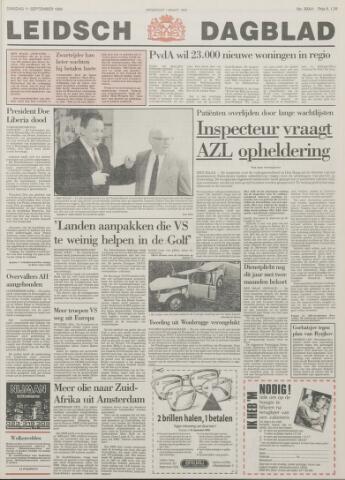 Leidsch Dagblad 1990-09-11