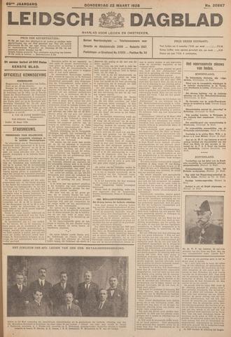 Leidsch Dagblad 1928-03-22