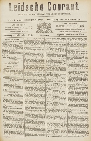 Leydse Courant 1889-04-15