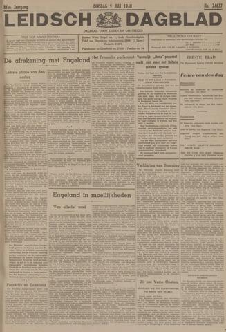 Leidsch Dagblad 1940-07-09