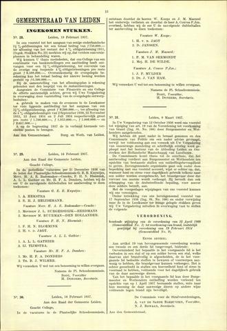 Handelingen van de Raad 1937-02-19