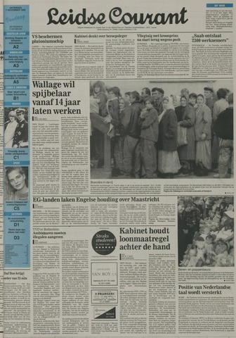 Leidse Courant 1992-11-07
