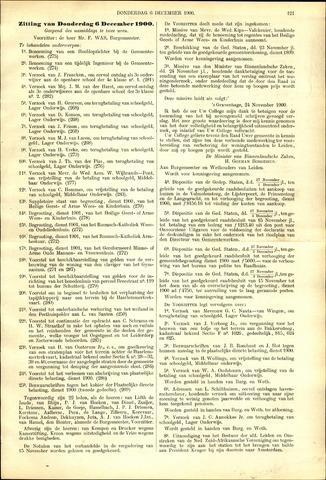 Handelingen van de Raad 1900-12-06