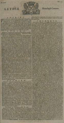 Leydse Courant 1722-10-19