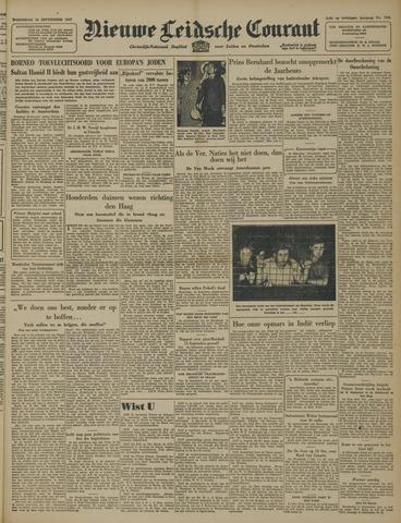 Nieuwe Leidsche Courant 1947-09-10